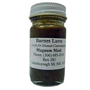 Barnes Magnum Musk Lure, (1 oz.)