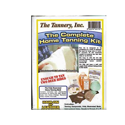 Complete Home Tanning Kit