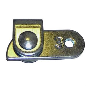 """Cam Lock (3/64"""") Regular, Galvanized"""