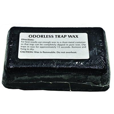 TRAP WAX, BLACK (1 lb)