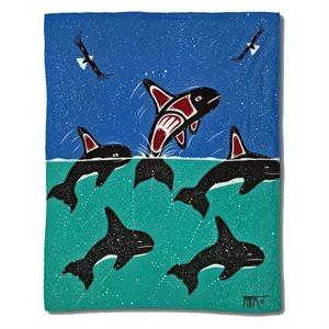 Blanket - Sacred Whale
