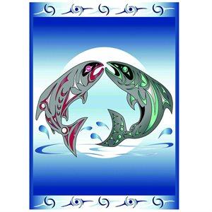 Blanket - Going Home (Salmon)