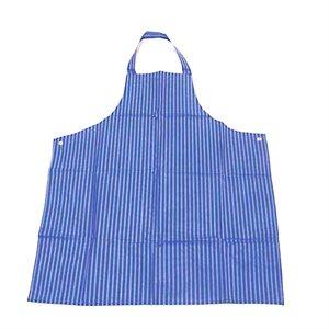Nylon Apron - Blue With White Stripes