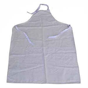 Chemical Resistant Neoprene Apron - White