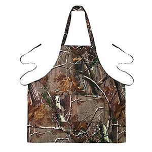 Realtree Camo Apron with Two Pockets