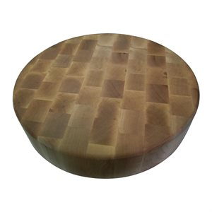 "Round Chopping Block (15"" x 3"")"