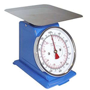 Omcan Spring Dial Scale - 50 Kg/110 Lbs.