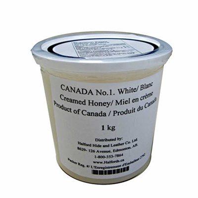 Canada No. 1 White Creamed Honey (1 kg)