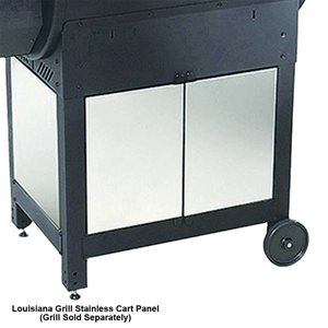 Louisiana Grills Stainless Steel Cart Panels For CS-680 Smoker