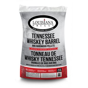 Louisiana Grills BBQ Pellets - Tennessee Whisky Barrel (40 lbs.)