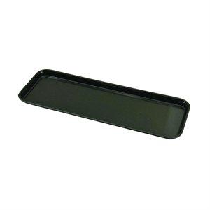 """Fiberglass Black Tray 25.5"""" x 8.71"""""""