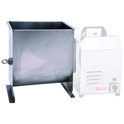 44 lb. Stainless Steel Dual Operation Meat Mixer