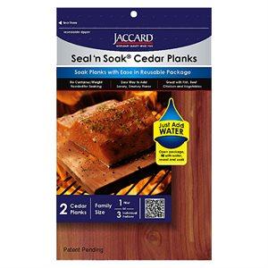 Seal-n-Soak Cedar Grilling Planks