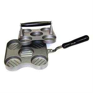 5 Slot Sliderz Mini Burger Press and Cooker