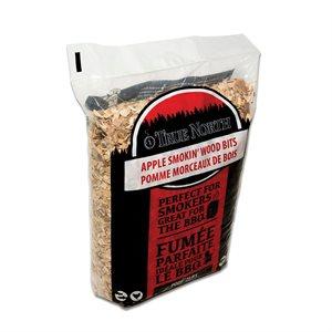 True North Smokin' Wood Bits - Apple (900 g)