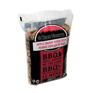 True North Smokin' Wood Chips - Apple (900 g)