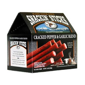Hi Mountain Snackin' Sticks Kits - Cracked Pepper & Garlic