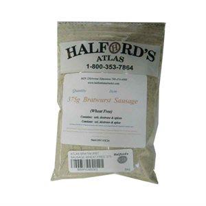 Atlas Wheat-Free Sausage Seasoning - Bratwurst