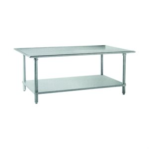 "Stainless Steel Work Table (30"" X 96"")"