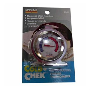 Cold-Chek Refrigerator/Freezer Thermometer