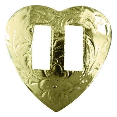 """Conchos - Gold Heart (1"""")"""