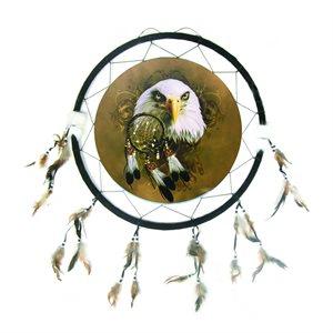 "24"" Dream Catcher - Single Eagle with Dream Catcher"