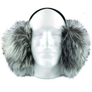 Ear Muffs - Silver Fox