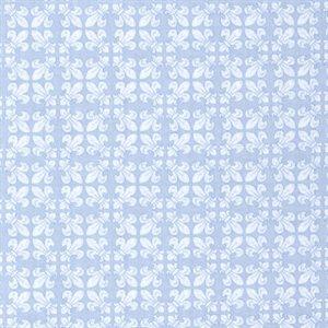 French Flea Market - Window - Blue