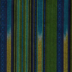 Shirting Fabric - Green and Blue Tones Tones