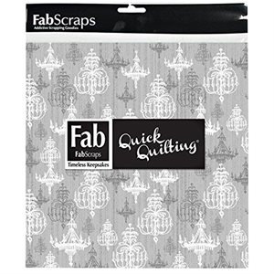 """Shabby Chic Pack - 5"""" Squares - Silver"""