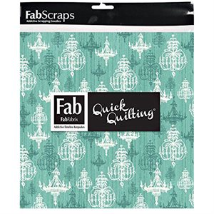 """Shabby Chic Pack - 5"""" Squares - Turquoise"""