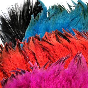 "Hackle Feathers 6""+ (1 oz)"