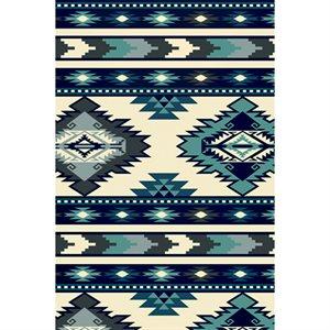 Winterfleece - Southwest Stripe - Blue