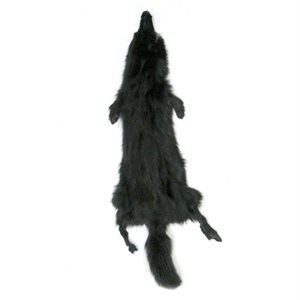 #1 Black Fox Fur