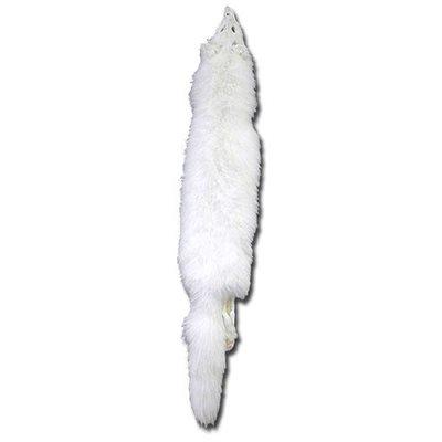 #1 White Arctic Fox Fur