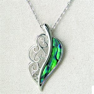 Necklace - Filigree Feather