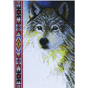 Cross Stitch Kit - Wildlife Wolf