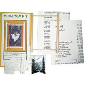 Mini Loom Bead Kit - Sister Wolf