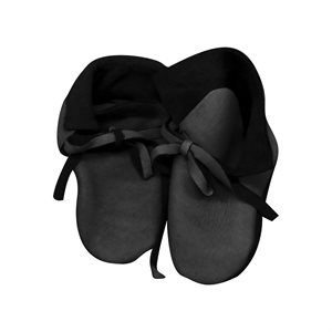 Infant Moccasin Kits w/Deer Leather - Black