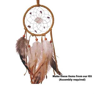 "3"" Dream Catcher With Stones Kit"