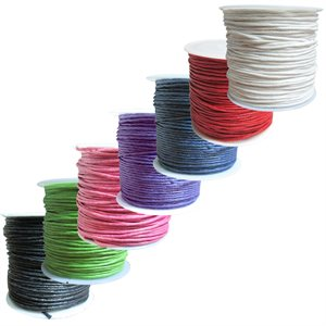 Cotton Wax Cord (1 mm)