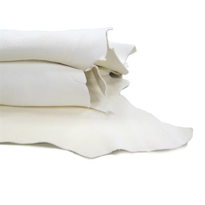 Deer Leather - White (#1)