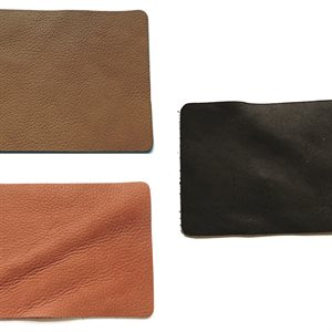 "Full Grain Leather Trim Pieces (9"" x 3"")"