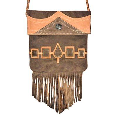 Small Bag - Wampum, Dark Brown