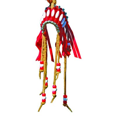 "Mini 1"" Head Dress - Assorted Colours"