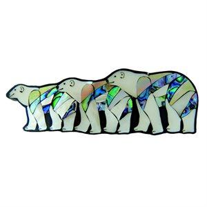Barrette - Glacier Bears