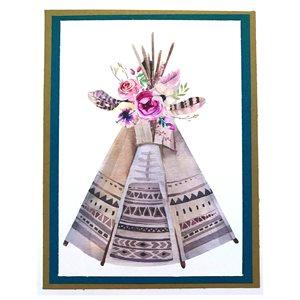 Handmade Card - Teepee