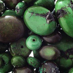 Healing Stones - Green/Black