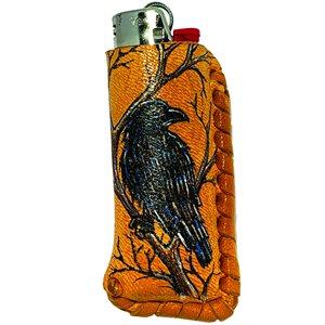 Lighter Case - Crow