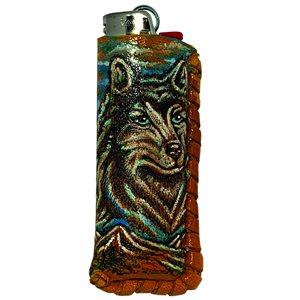 Lighter Case - Wolf